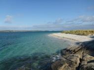 Strand von Tresco, Scilly Inseln