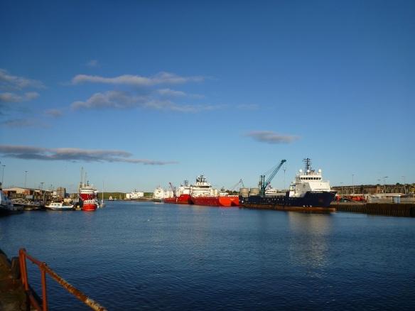 Aberdeen Hafen