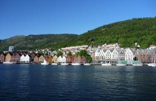 Kaufmannshäuser in Bergen