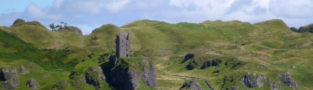 Schottland, Gylen Castle