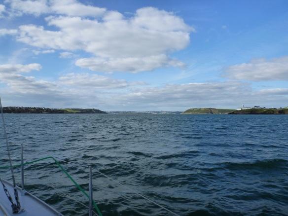 Cork Hafeneinfahrt