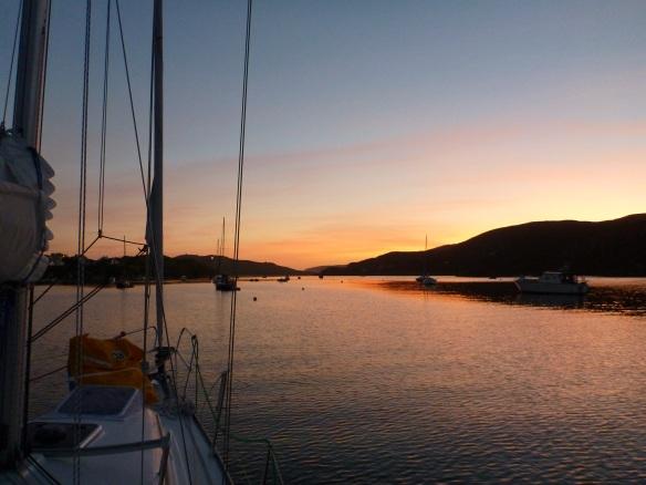 Sonnenuntergang Crookhaven