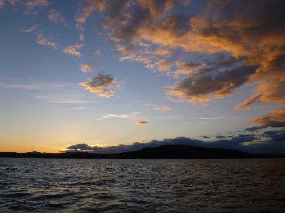Sonnenuntergang vor Arklow