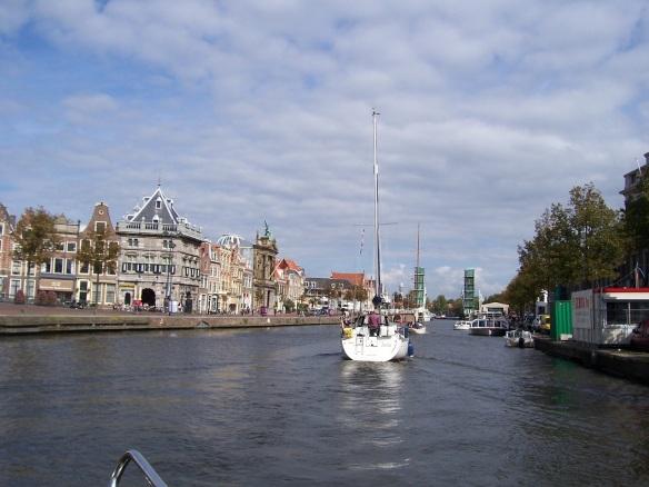 stehende Mast Route