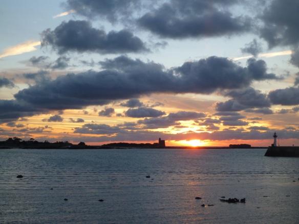 Sonnenaufgang St Vaast