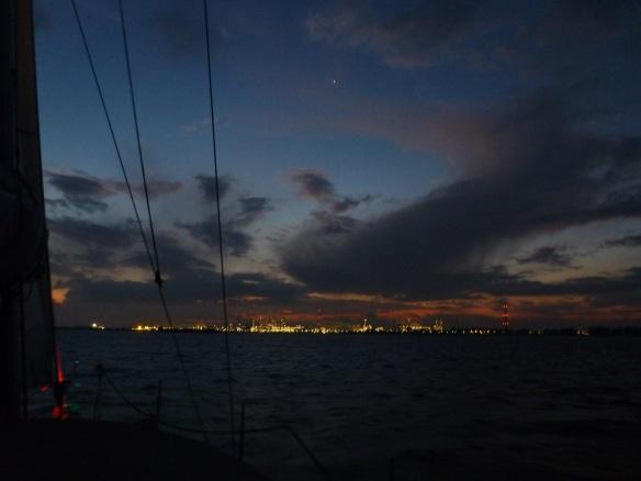 Sonnenaufgang im Hollandse Diep