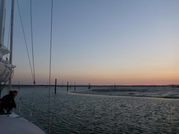 09.07. Hafenausfahrt P1160910