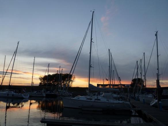 Abendstimmung im Waddenhaven Texel