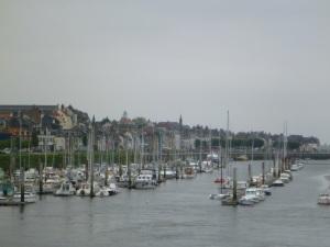 Hafen von St. Valery s. S.