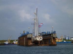 Dock auf Texel