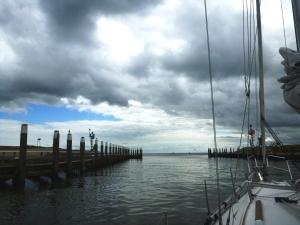 Abfahrt Texel