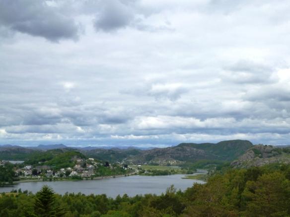 Wandern über Egersund