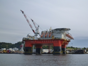 Plattform vor Stavanger