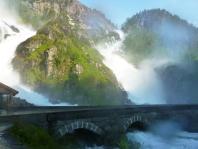 Latefossen - Wasserfall