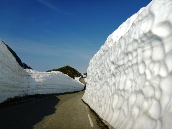 Schneewand