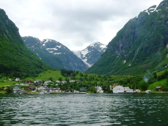 Gletscherzunge Sundal