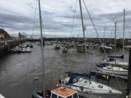 Trockenes Hafenbecken