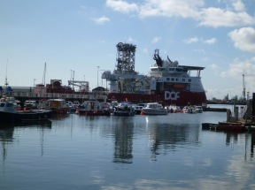 Sunderland Skandid Constructor im Hafen