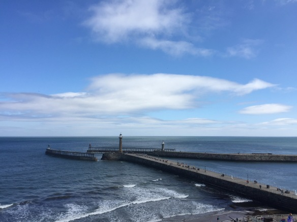 160812_Whitby Harbor Entrance