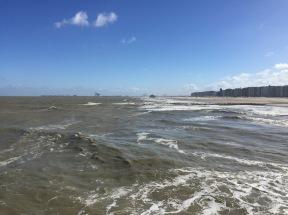 Blick auf Zeebrügge