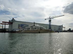 kleine private Yacht